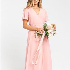Show Me Your MuMu Noelle Wrap Dress Sz S